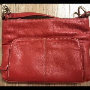 Tignanello Leather Handbag Crossbody